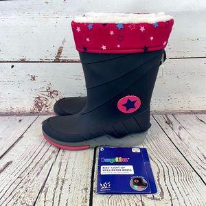 New Lupilu Wellington Girls Lined Rain boots